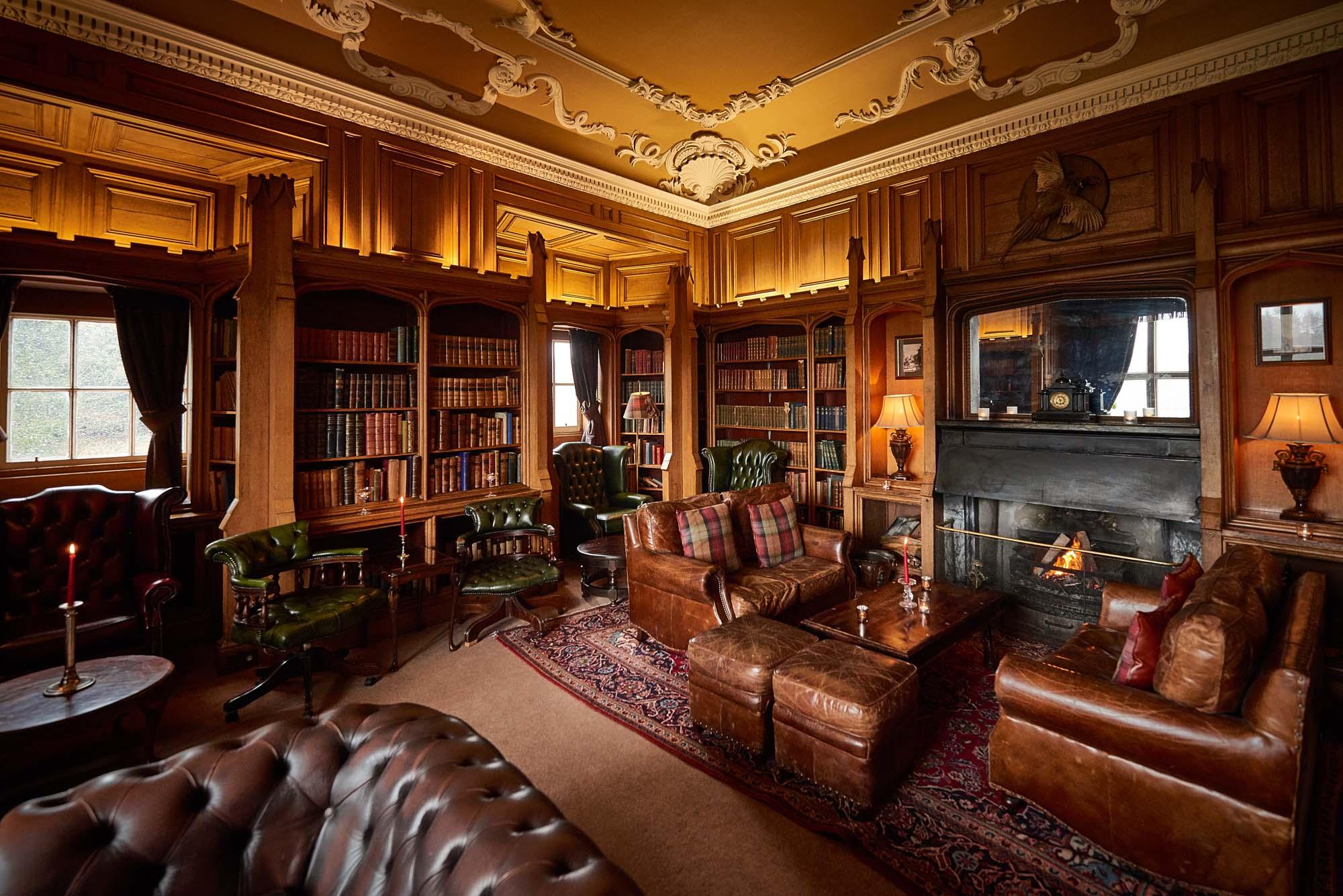 Rooms: Dalhousie Castle